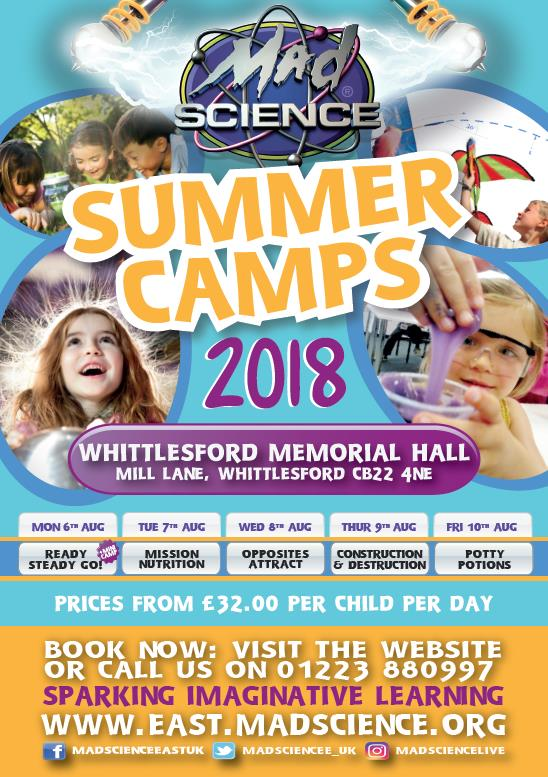 Mad Science summer 2018