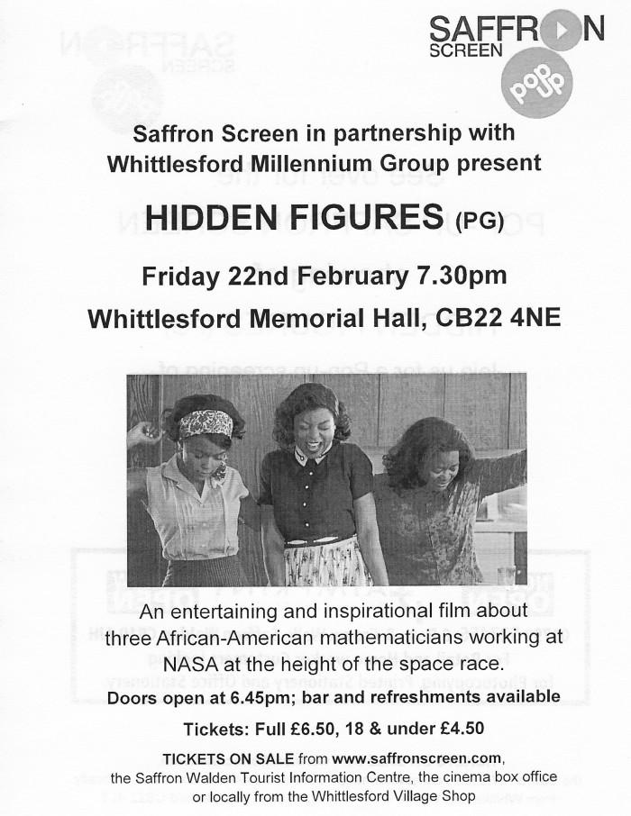 Hidden figures poster 2